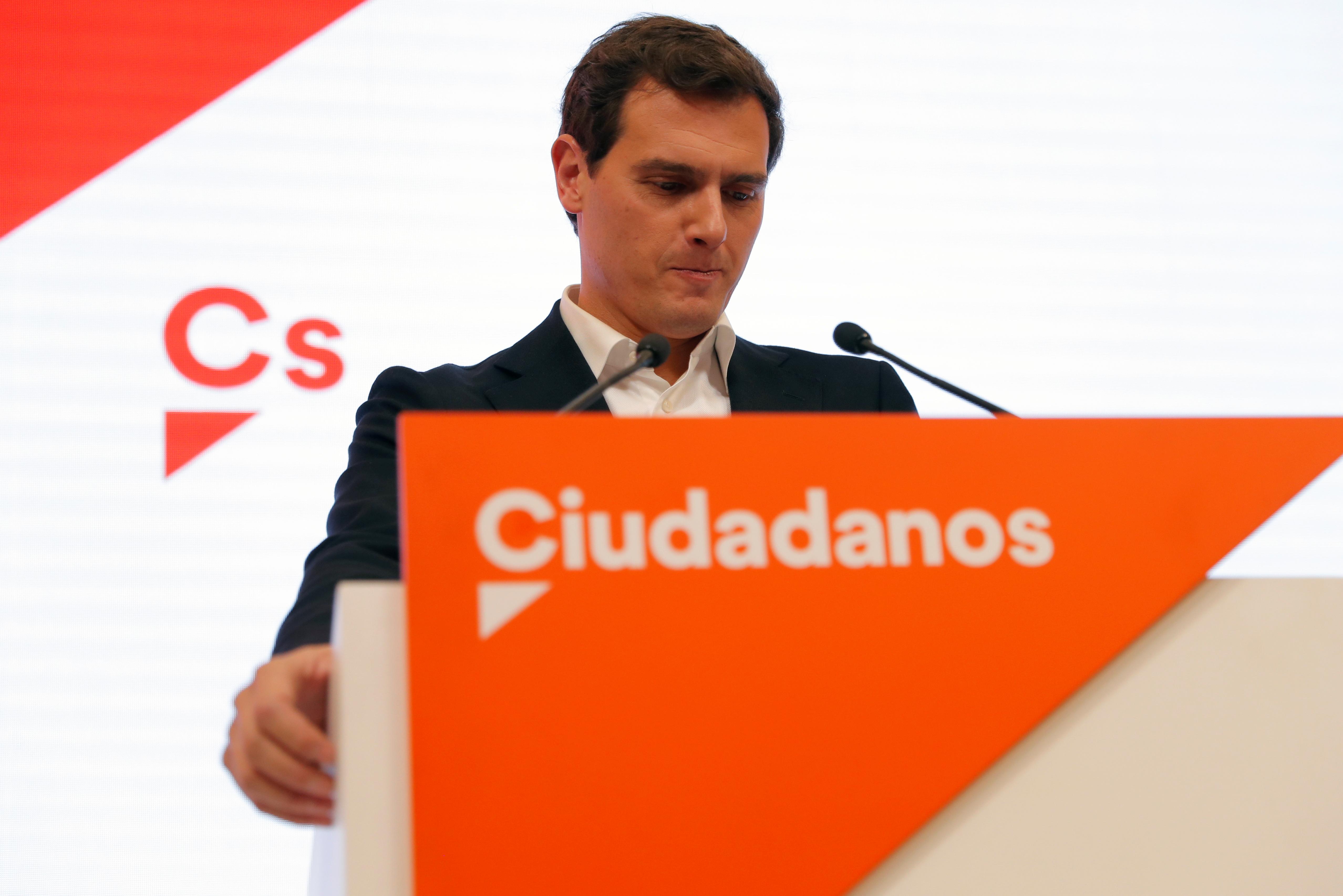 Ισπανία: Παραιτήθηκε ο πρόεδρος των Ciudadanos