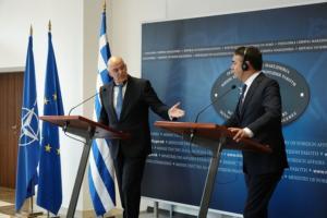 Δένδιας από Σκόπια: Συμμερίζομαι την απογοήτευση στη Βόρεια Μακεδονία για την μη ένταξη στην ΕΕ