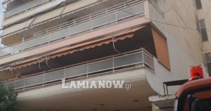 Λαμία: Έγιναν οι σωτήρες του ζευγαριού μέσα στο φλεγόμενο διαμέρισμα – Δεν έμειναν απαθείς την πιο κρίσιμη στιγμή – video