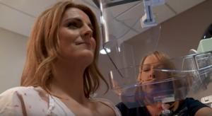 """Δημοσιογράφος έμαθε """"στον αέρα"""" ότι έχει καρκίνο του μαστού! Video"""