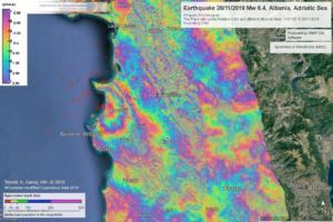 Σεισμός στην Αλβανία: Ανυψώθηκε 8,4 εκατοστά το έδαφος στο Δυρράχιο