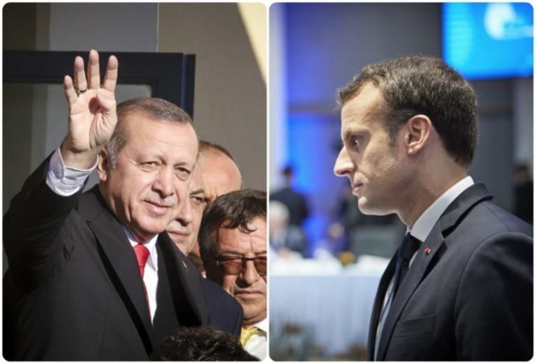 Ο Μακρόν ρίχνει το γάντι στον Ερντογάν: Στο επόμενο Ευρωπαϊκό Συμβούλιο μέτρα κατά της Τουρκίας