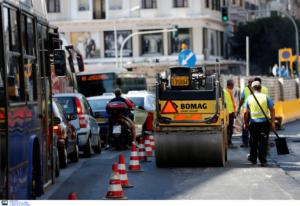 Ασφαλτοστρώσεις στο κέντρο της Αθήνας – Ποιοι δρόμοι θα κλείνουν