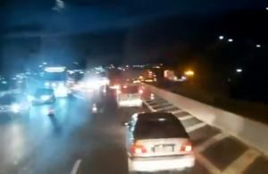 """Γηρυόνης: Βράδιασε… κι ακόμα """"κολλημένοι"""" στην εθνική οδό! video"""