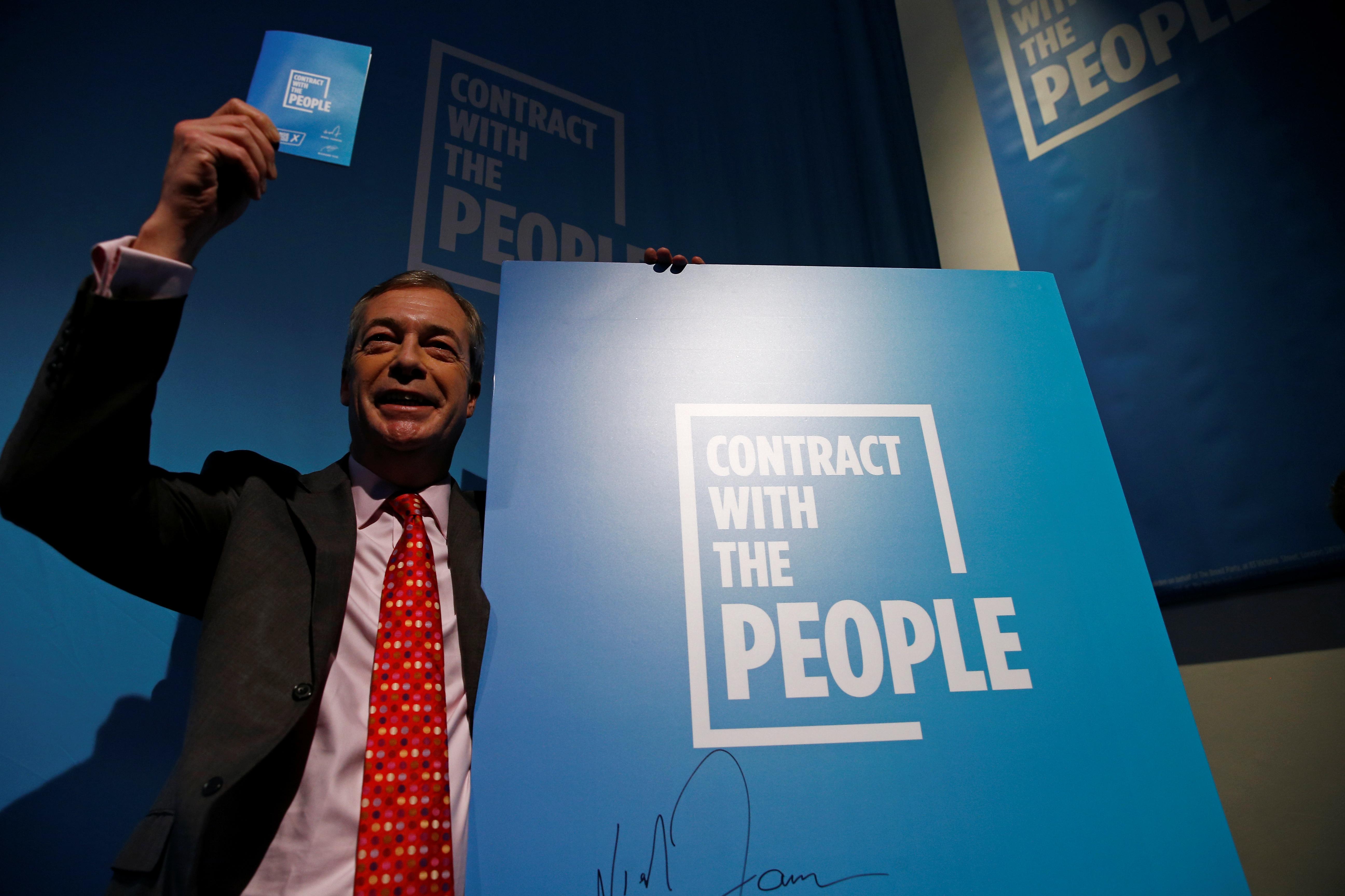Βρετανία – Εκλογές: Το «συμβόλαιο με τους πολίτες» παρουσίασε το κόμμα του Brexit