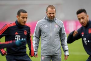 """Μπάγερν Μονάχου – Ολυμπιακός, Φλικ: """"Έχουν 2-3 πολύ καλούς παίκτες σε ατομικό επίπεδο"""""""