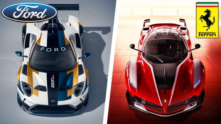 Ford vs Ferrari: Ποια μάρκα κερδίζει τη μάχη του διαδικτύου;