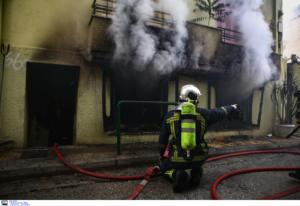 Φωτιά σε σπίτι στην Κυψέλη