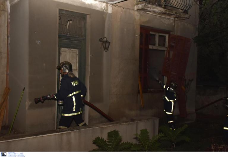 Φωτιά τώρα σε κτίριο κοντά στην Πατησίων!