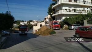 Έκρηξη από γκαζάκι σε διαμέρισμα στο Ηράκλειο