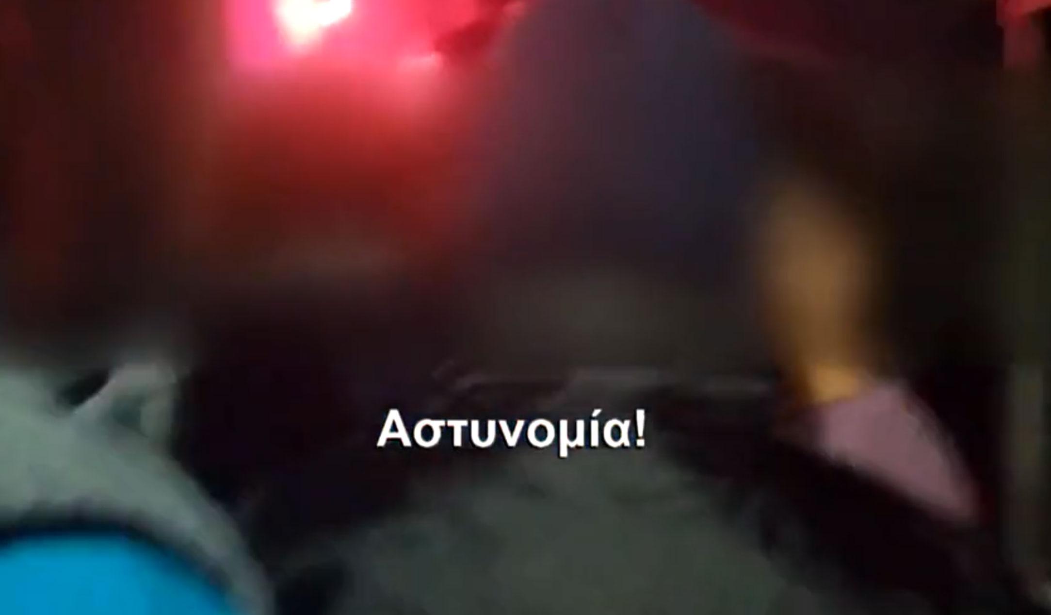 """Η στιγμή της εισβολής σε νυχτερινό κέντρο στο Γκάζι! """"Όλοι κάτω! Αστυνομία! Μείνε όπως είσαι"""""""