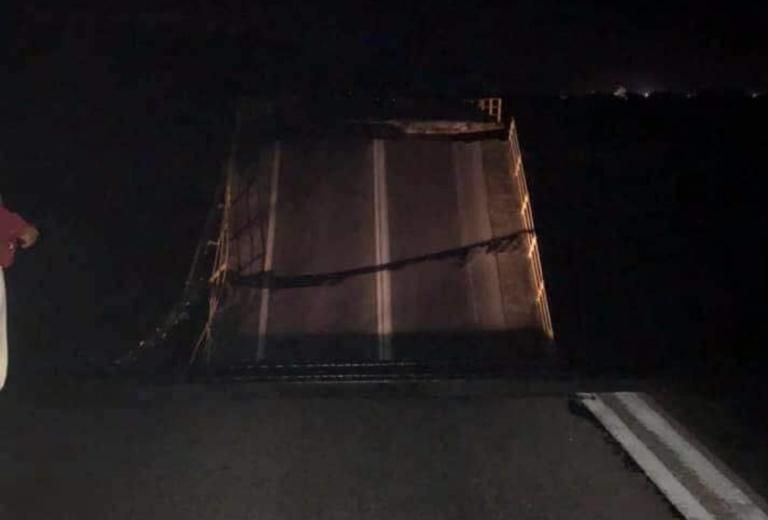 Γηρυόνης: Κατέρρευσε η γέφυρα στο Χαράκι! Δύσκολη η κατάσταση στη Ρόδο