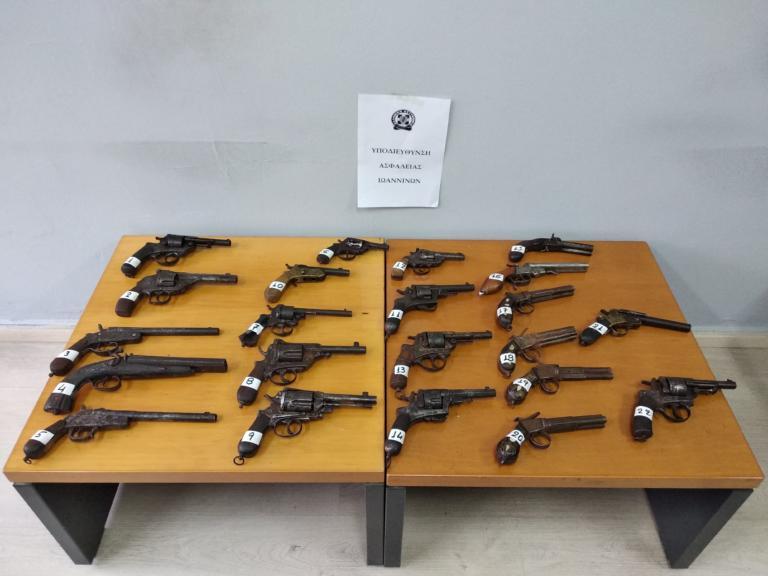 Είχαν κρύψει όπλα του 19ου αιώνα δίπλα στην λίμνη Ιωαννίνων! [pics]