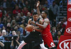 """""""Τρένο"""" οι Μπακς πέρασαν κι από το Σικάγο με σούπερ Αντετοκούνμπο! Τα αποτελέσματα στο NBA – video"""