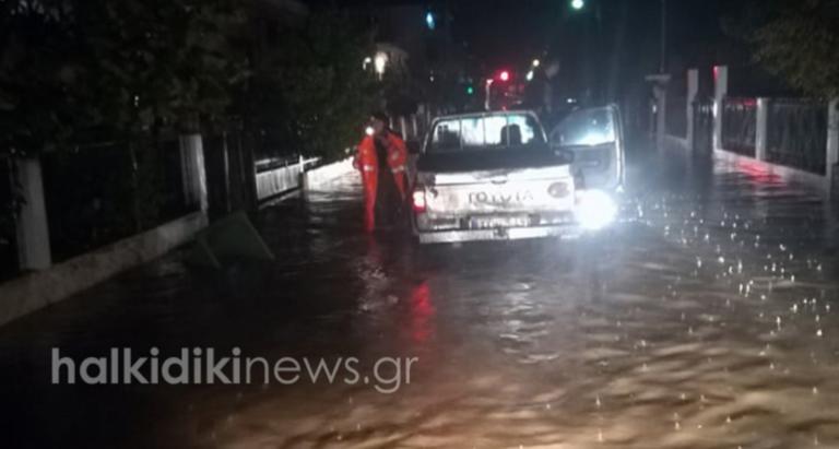Γηρυόνης: Άλλη μία νύχτα αγωνίας στη Χαλκιδική – Πλημμύρισε και η Ιερισσός!
