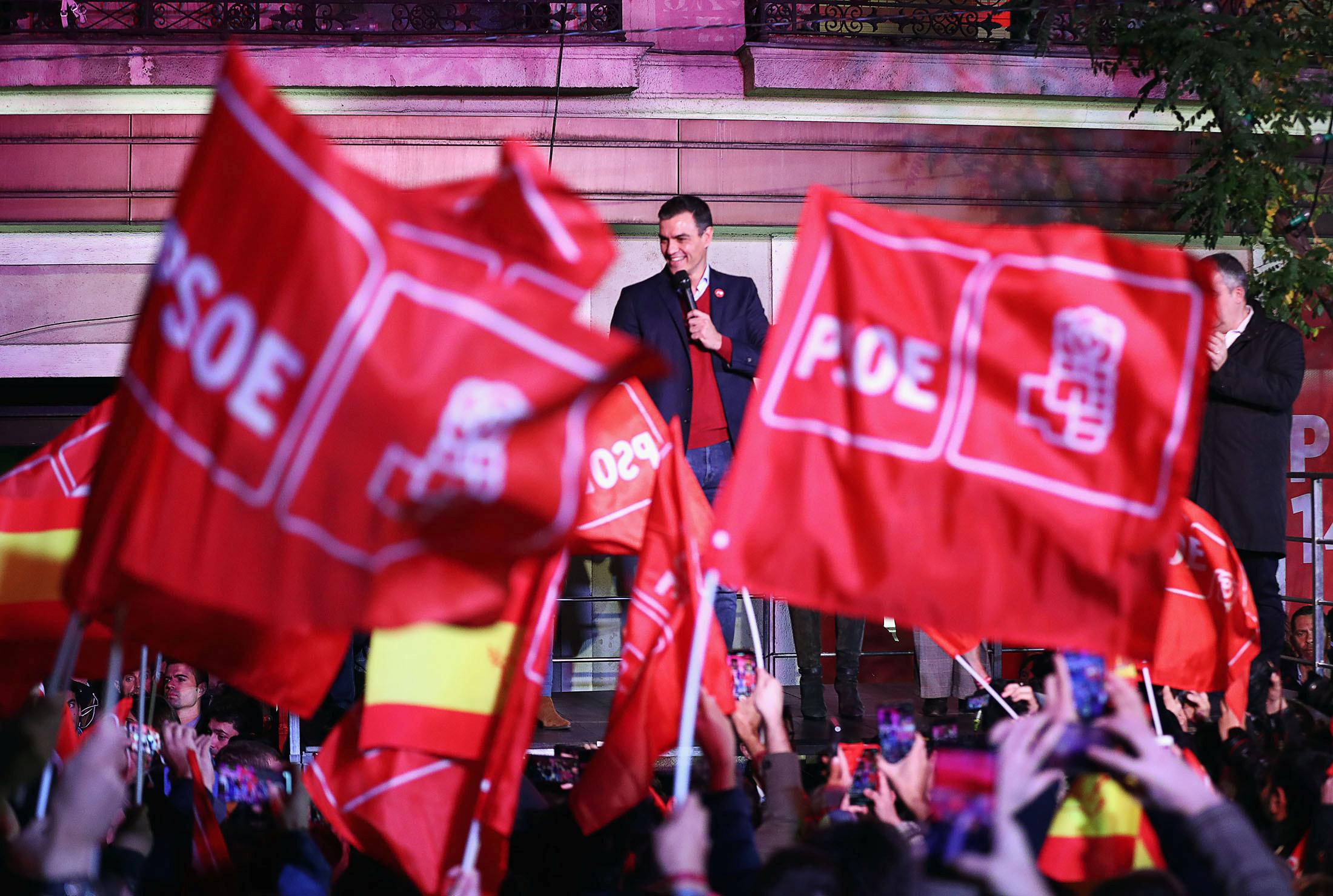 Ισπανία: Ξανά αδιέξοδο μετά τις εκλογές – Μεγάλος κερδισμένος το ακροδεξιό VOX