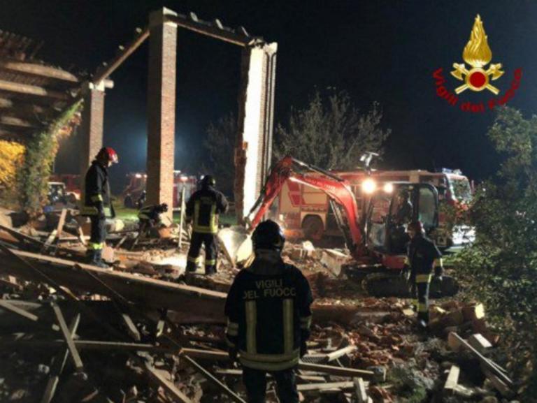 """Ιταλία: Νεκροί τρεις πυροσβέστες από """"ύποπτη"""" έκρηξη!"""