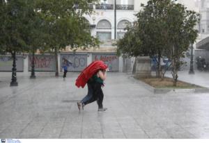 Καιρός σήμερα: Βροχές αλλά και άνοδος της θερμοκρασίας! Που θα χρειαστούμε ομπρέλες