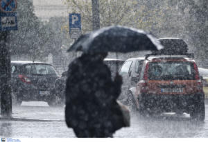 Καιρός: Έρχονται τις επόμενες ώρες βροχές και ισχυρές καταιγίδες