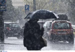 Καιρός σήμερα: Δύσκολη μέρα με βροχές και ισχυρές καταιγίδες