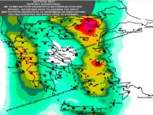 """Καιρός – Αρναούτογλου: """"Εν δυνάμει επικίνδυνες βροχές και καταιγίδες από Δευτέρα"""""""