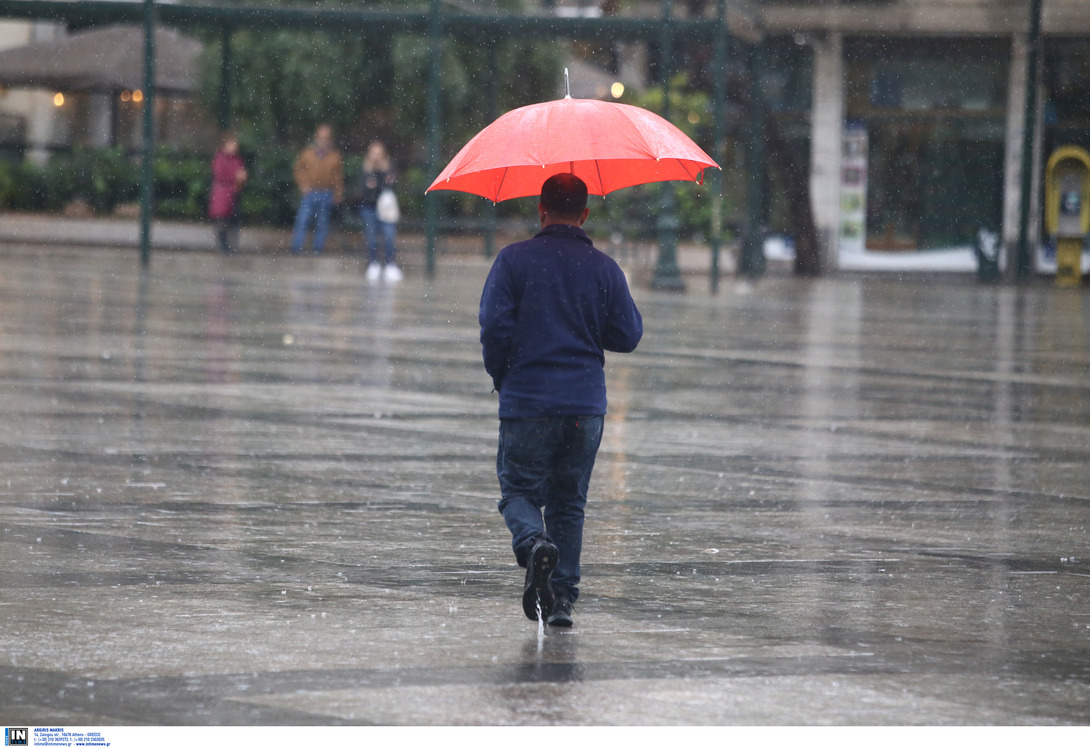 Καιρός αύριο: Έρχονται βροχές και ισχυρές καταιγίδες