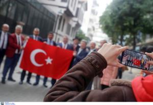 Πολλοί Τούρκοι στη Θεσσαλονίκη για την επέτειο θανάτου του Κεμάλ [pics]