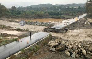 Καιρός: Οργή για τη γέφυρα του Κερίτη – Ξεσπάσματα μετά το νέο χτύπημα της κακοκαιρίας – video