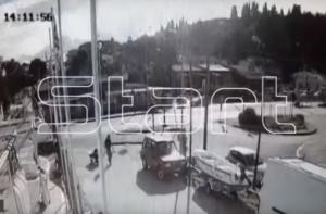 Κέρκυρα: Σοκαριστικό βίντεο από τροχαίο στο νησί – Η στιγμή της σύγκρουσης