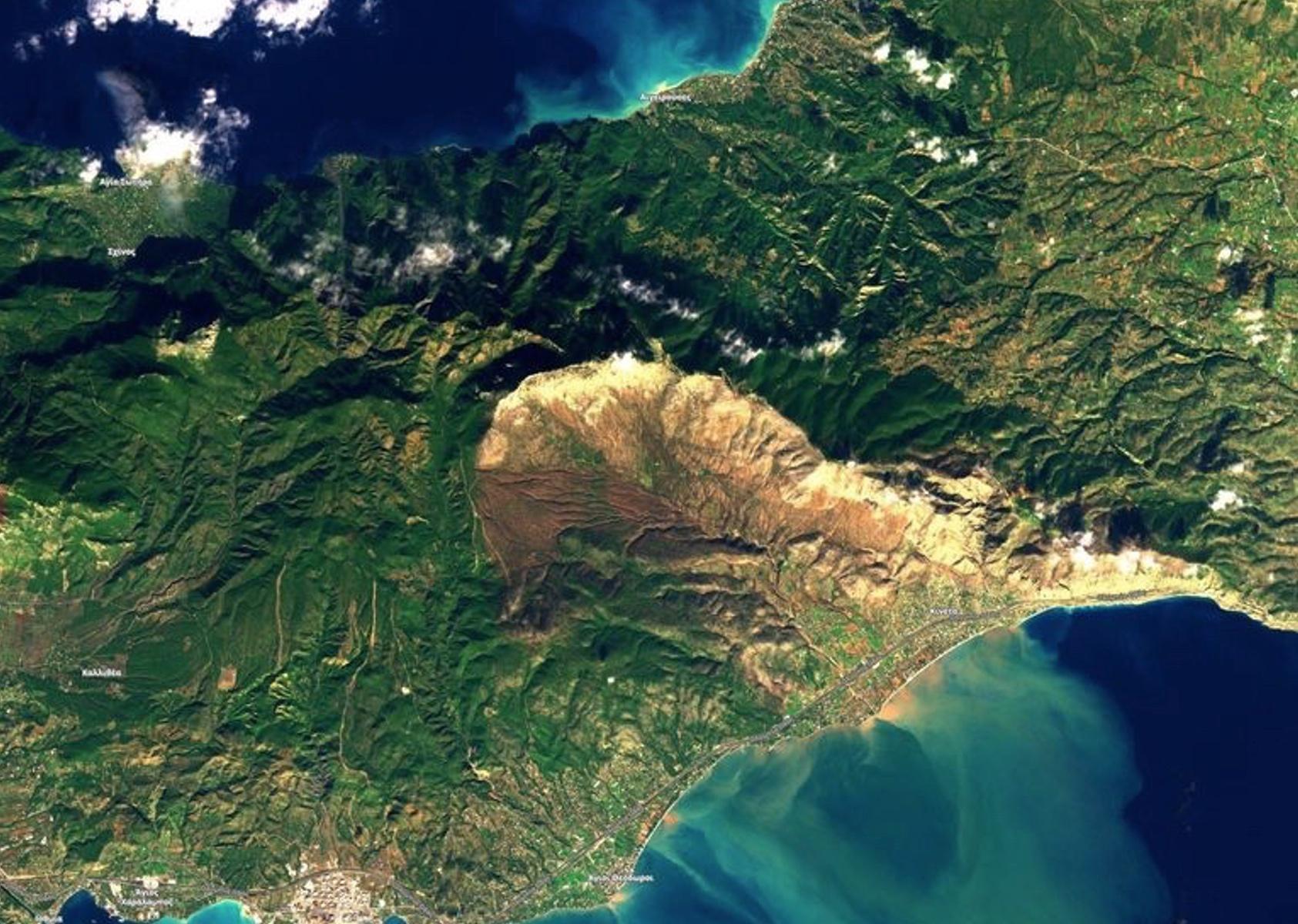 Η Κινέτα από το διάστημα! Εικόνα σοκ από δορυφόρο!