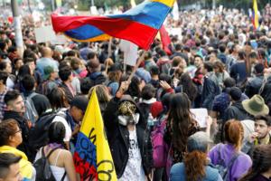 """Κολομβία: """"Όχι"""" στους όρους του Ντούκε για διάλογο [pics]"""