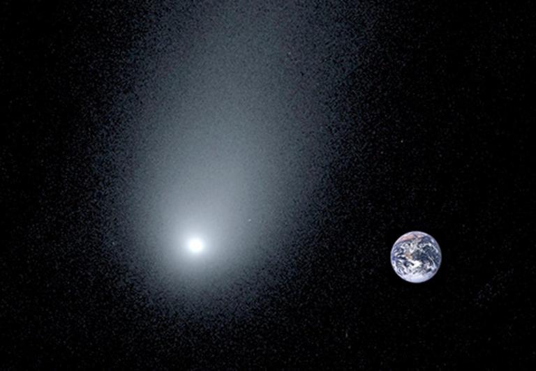 Αυτός είναι ο τεράστιος κομήτης που πλησιάζει την Γη [pics]