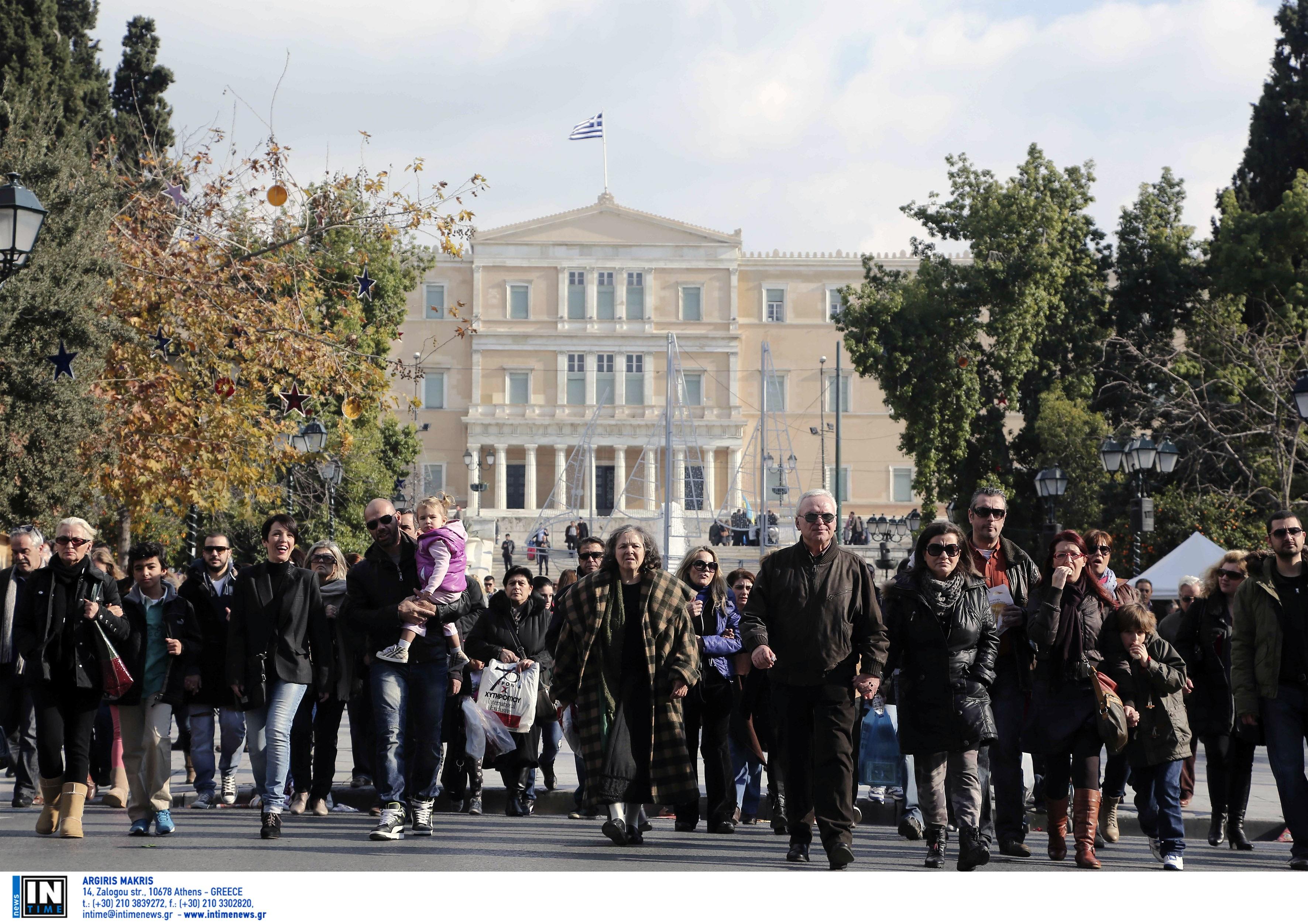 Ένα εκατομμύριο μικρότερος ο πληθυσμός της Ελλάδας σε 20 χρόνια!