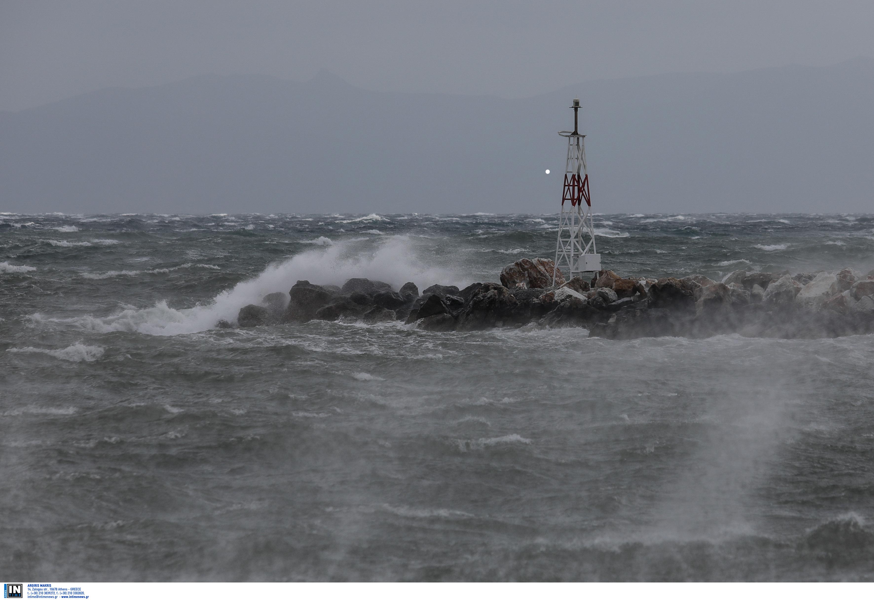 Θυελλώδεις άνεμοι στο Αιγαίο! Ποια ακτοπλοϊκά δρομολόγια δεν εκτελούνται