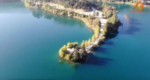 Η λίμνη Δόξα από ψηλά! Video