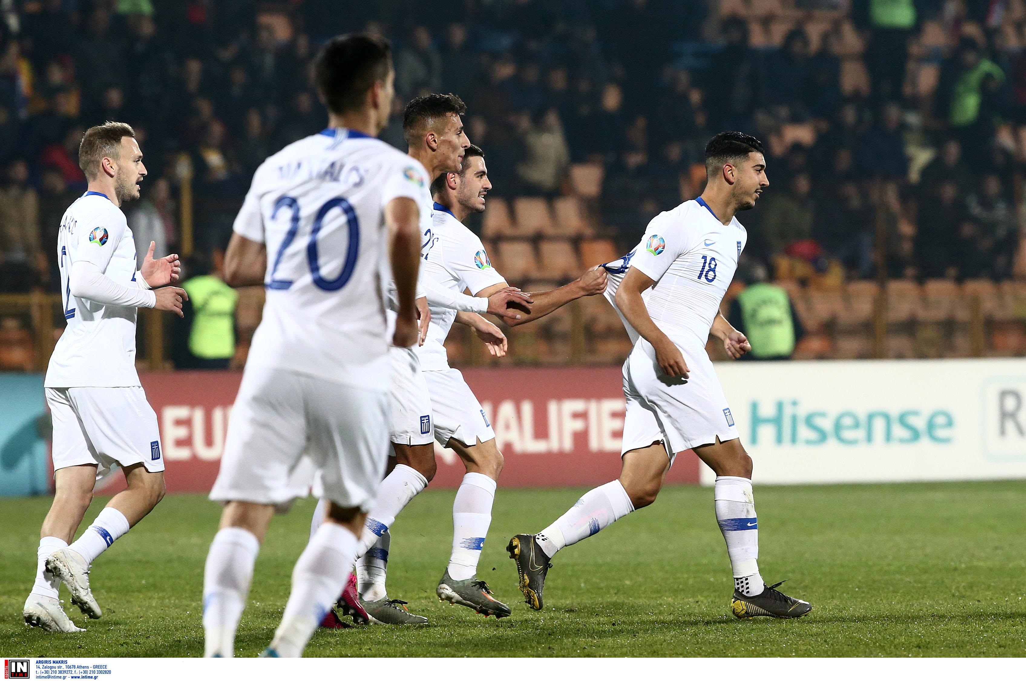 Αρμενία – Ελλάδα 0-1 ΤΕΛΙΚΟ: Νίκη με… total football για την Εθνική!