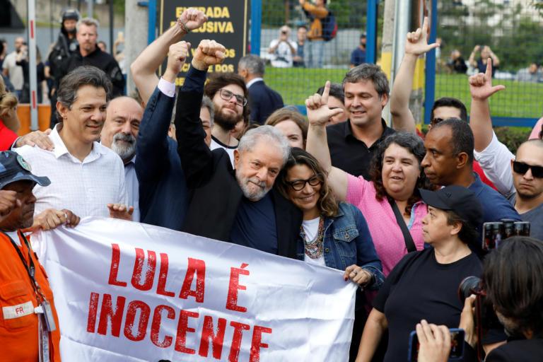 Αποφυλάκιση Λούλα: Πανηγύρια σε Αργεντινή, Κούβα και Βενεζουέλα