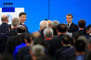 Συμφωνία Μακρόν – Σι Τζινπίνγκ για την κλιματική αλλαγή