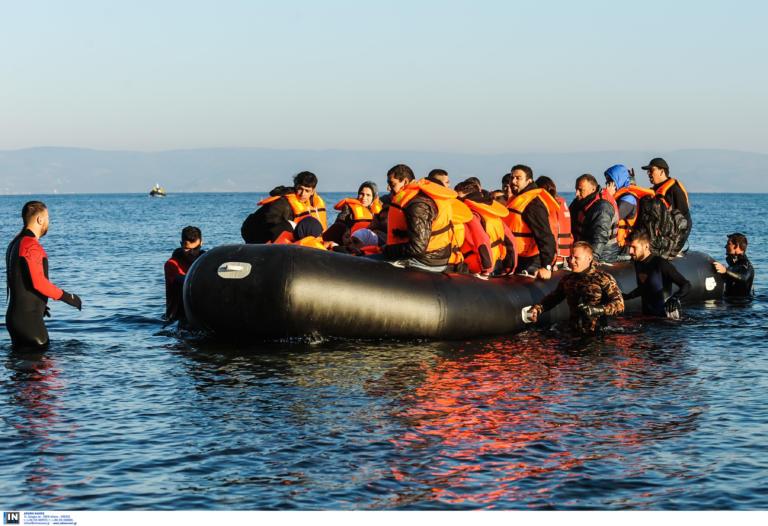 Λέσβος: Νέες καραβιές προσφύγων και μεταναστών – Αμείωτες οι ροές και στα Δωδεκάνησα!