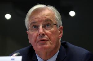 Μπαρνιέ: Δύσκολες οι εμπορικές σχέσεις με τη Βρετανία μετά το Brexit
