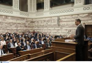 Προσφυγικό και οικονομία στο επίκεντρο: Τι είπαν υπουργοί και βουλευτές της ΝΔ πίσω από τις κλειστές πόρτες