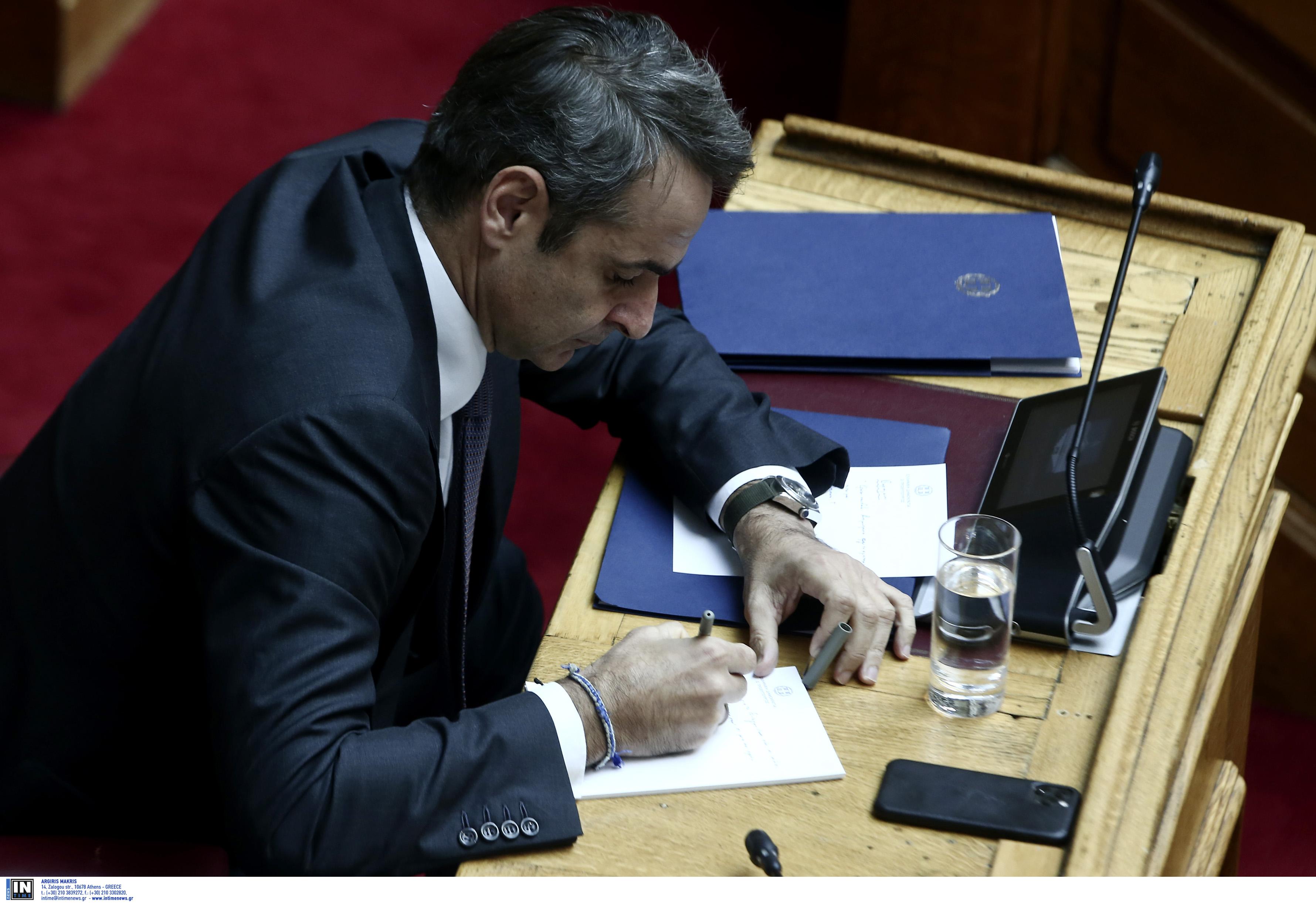 Μητσοτάκης σε Τσίπρα: Τις προτάσεις σας τις απέρριψε ο λαός στις 7 Ιουλίου - Σε εξέλιξη η ψηφοφορία