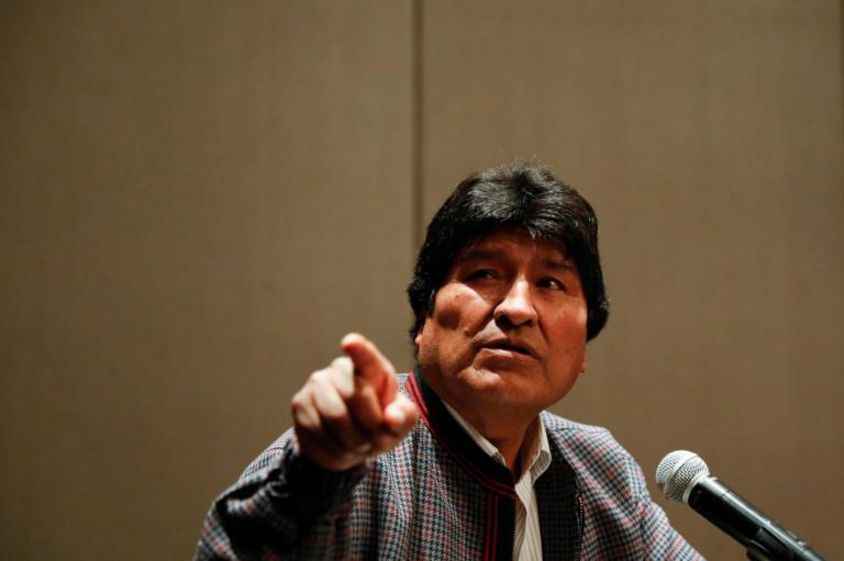 """""""Επικεφαλής της εκστρατείας"""" του κόμματος του ο Μοράλες εν όψει των επόμενων εκλογών στη Βολιβία"""