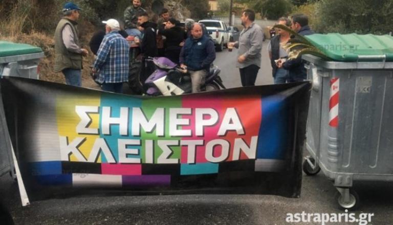 Χίος: Έκλεισαν το δρόμο που οδηγεί στον καταυλισμό της ΒΙΑΛ – Κάτοικοι μπλόκαραν τους εργαζομένους – video