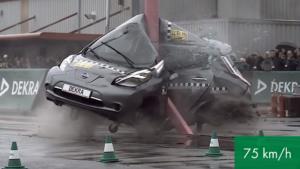 Είναι τα ηλεκτρικά αυτοκίνητα εξίσου ασφαλή με τα συμβατικά; [vid]
