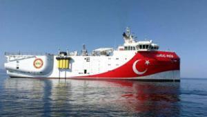 """""""Βράζει"""" η κυπριακή ΑΟΖ: Η Τουρκία εξέδωσε NAVTEX για σεισμικές έρευνες του """"Ορούτς Ρέις""""! [pic]"""