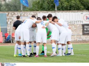 """Ελλάδα: """"Σφαλιάρα"""" με 5 γκολ για την Εθνική Νέων!"""