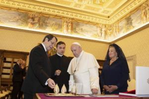 Στο Βατικανό ο Νίκος Αναστασιάδης – Συναντήθηκε με τον πάπα Φραγκίσκο