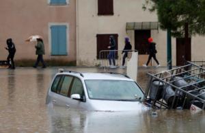 Δύο νεκροί από τις σαρωτικές πλημμύρες στη νοτιοανατολική Γαλλία – Video