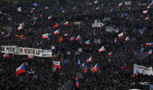 Τσεχία: Μαζικές αντικυβερνητικές διαδηλώσεις [pics]